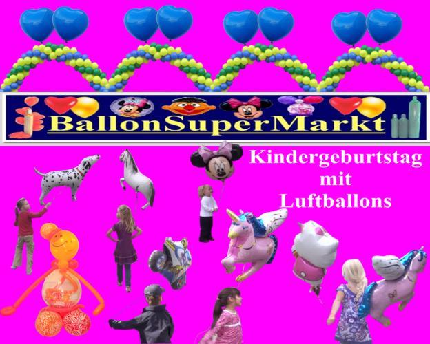 Kindergeburtstag mit Luftballons